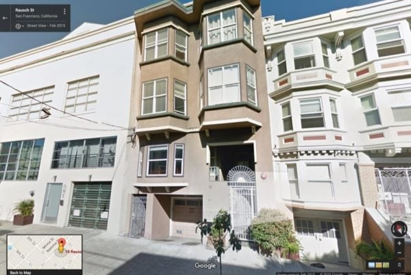 Airbnb founders' first house