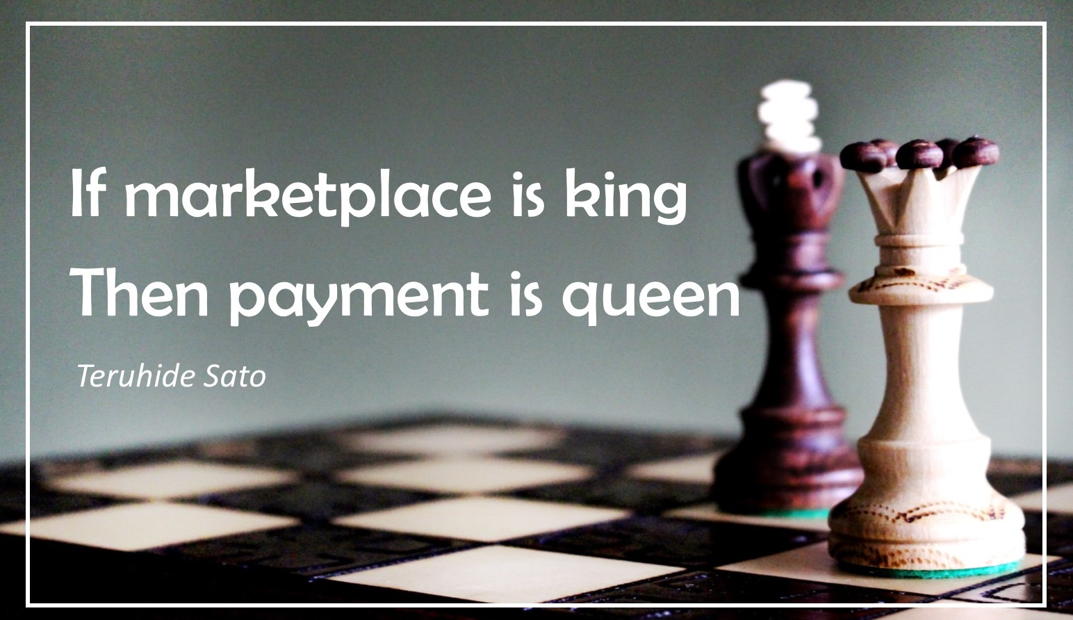 If marketplace is king payment system is queen