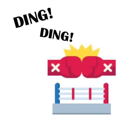 boxing ring software development agency vs online marketplace website builder ding ding match begins