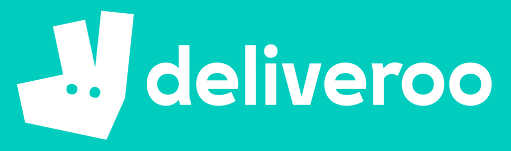 Deliveroo food delivery multi-vendor e-commerce app is trending 2019 (logo)