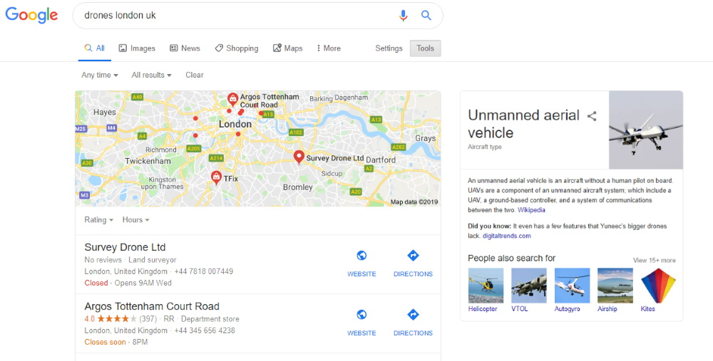 Structured Data can help your marketplace and its products appear in Google Maps and Knowledge Graph Cards