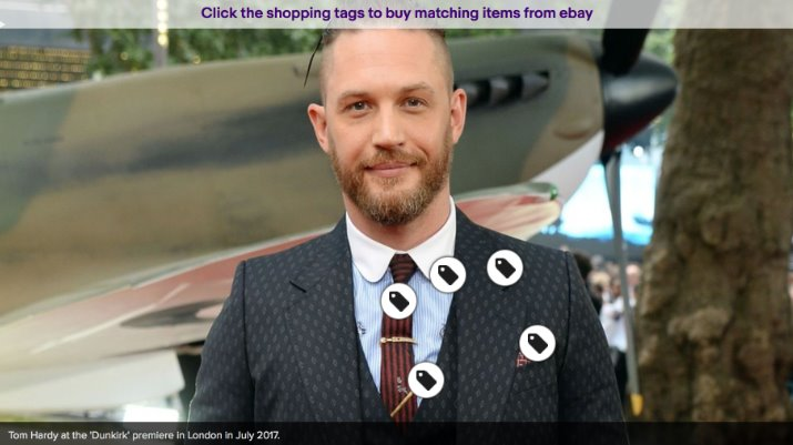 Consumers in the UK and US can now buy items on eBay based on Mashable content.