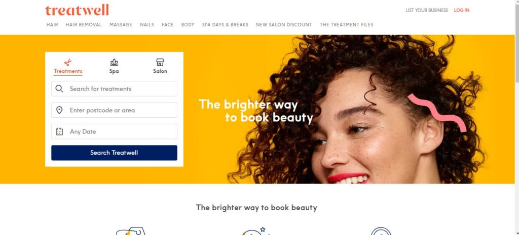 Treatwell beauty and hair salon marketplace
