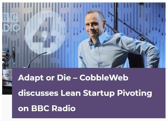Cobbleweb interview on BBC radio